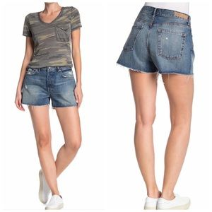 NWT GRLFRND Helena Cut Off Frayed Shorts 23